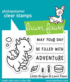 LF2323 Stamps - Little Dragon