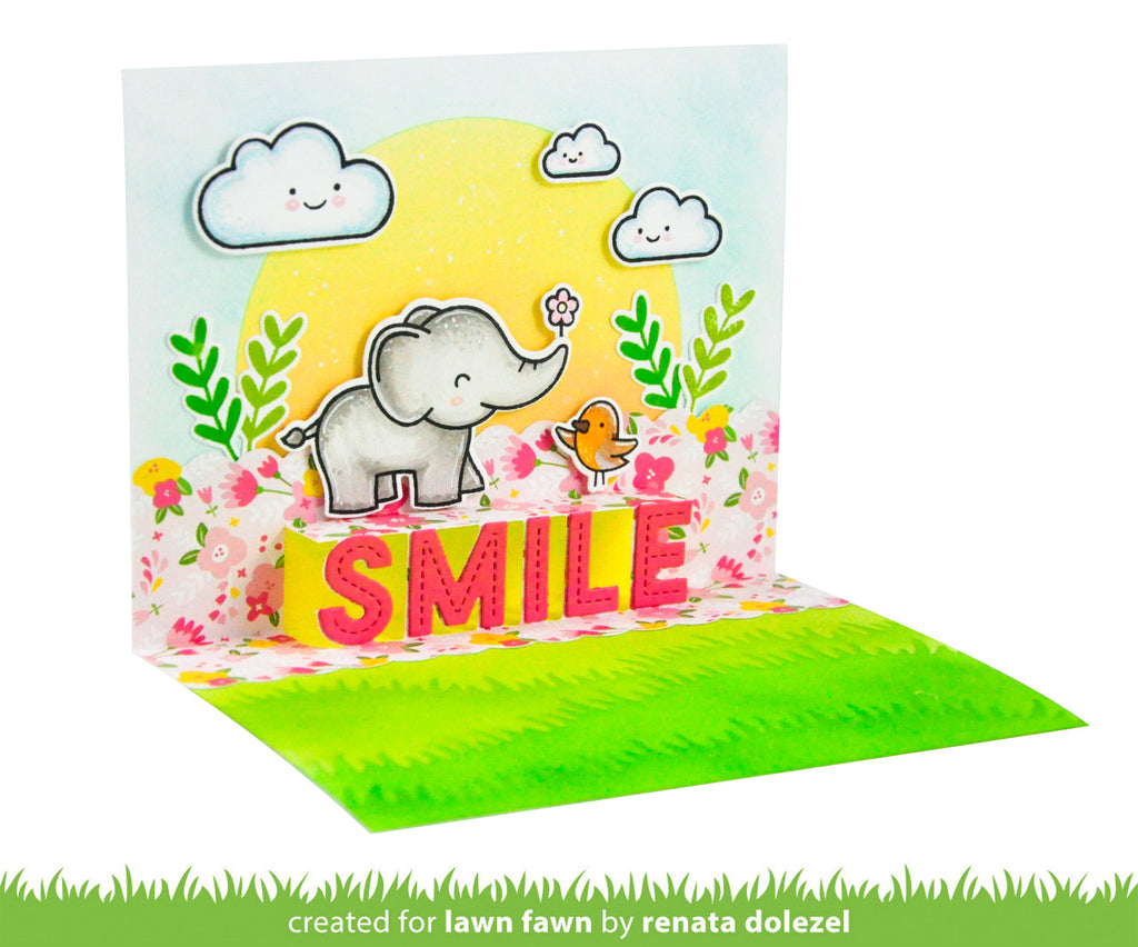 Lawn Fawn LF2528 Pop-Up Smile