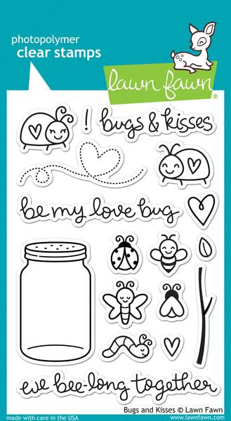 Bugs & Kisses - Stamp Set LF789