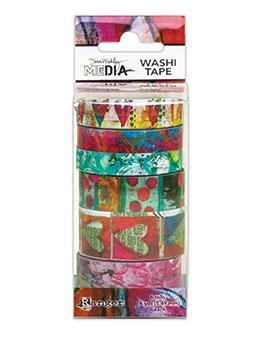 Dina Wakeley #3 - Media Washi Tape
