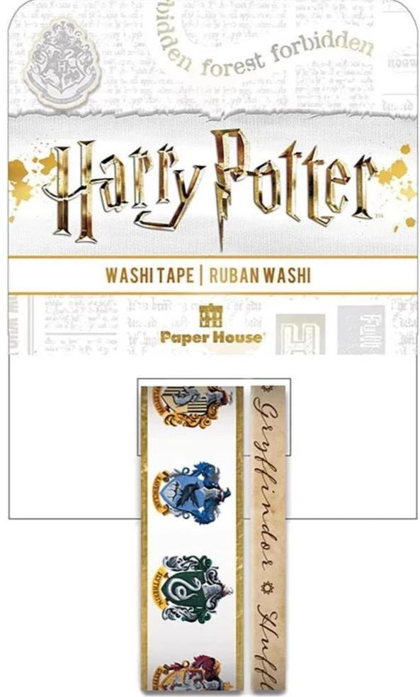Harry Potter House Crests Washi Tape