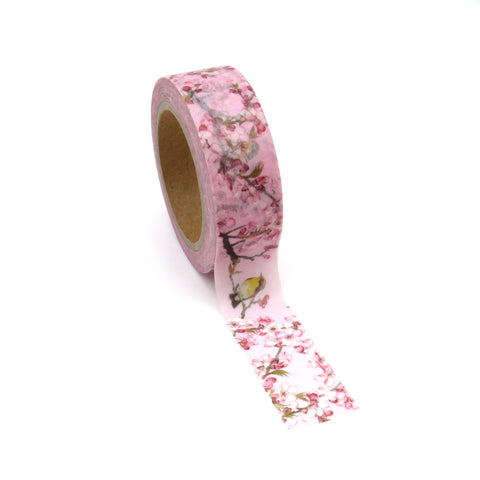 Pink Blossom Washi Tape