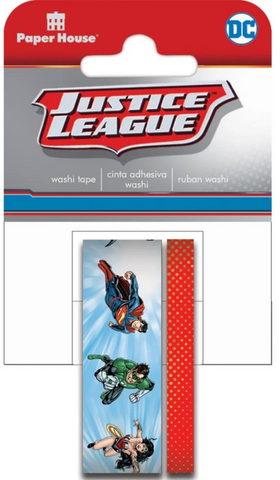 Justice League Washi Tape Set