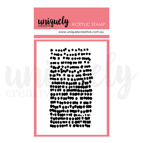 UC1788 Dots Mark Making Stamp - Acrylic