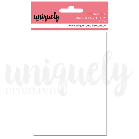 UCE1811 Cards And Envelopes Rectangle