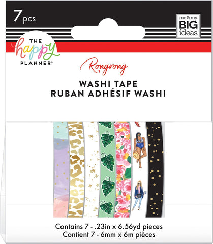 Washi Tape Happy Planner Set - Rongrong - So Much Fun