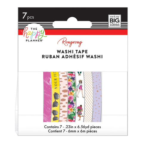 Washi Tape Happy Planner Set - Rongrong - Bright Future