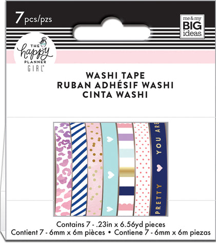 Washi Tape Happy Planner Set - Glam Girl