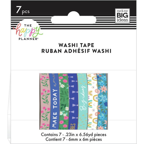 Washi Tape Happy Planner Set - Squad Goal