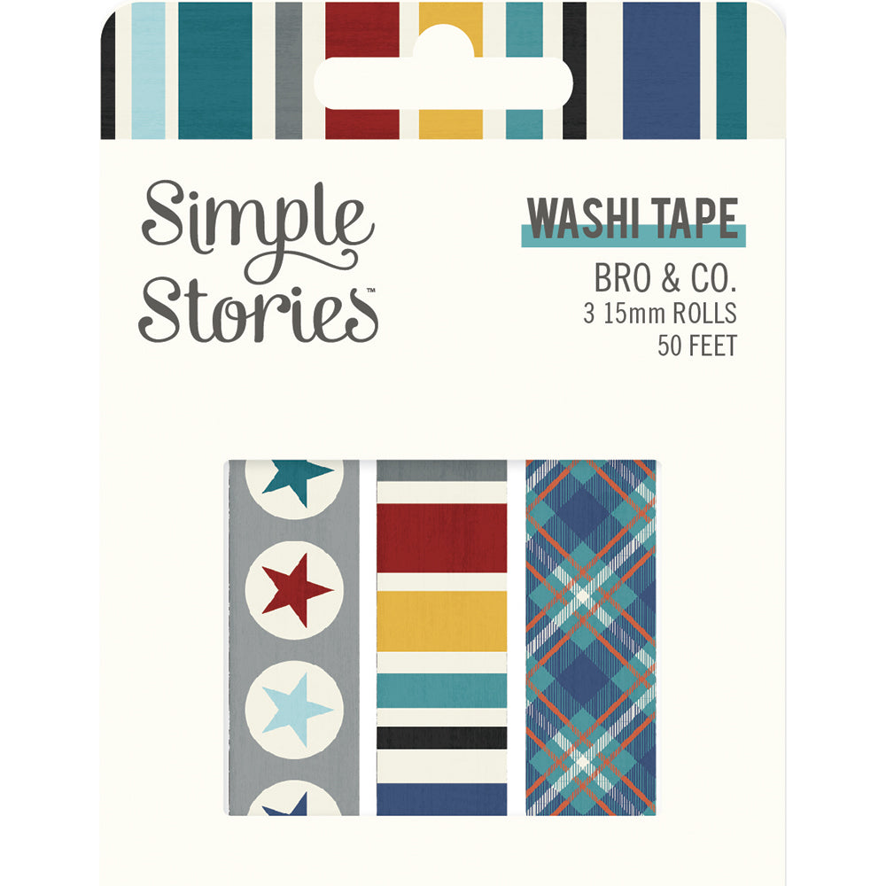 Simple Stories - Bro & Co Washi