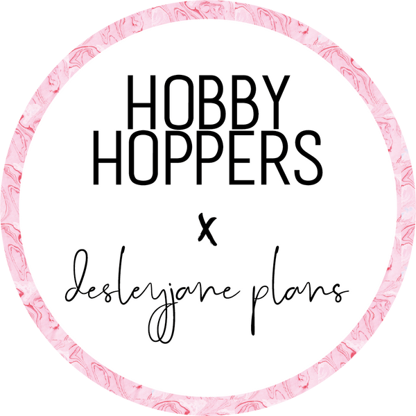 Hobby Hoppers x desleyjane plans Washi Tape - Water droplets