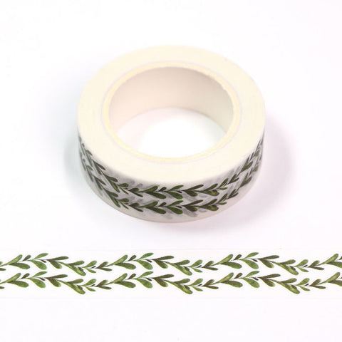 Washi Tape Double Vine Leaves