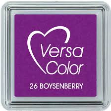 Versa Color Mini Ink Cube Pad Boysenberry 26