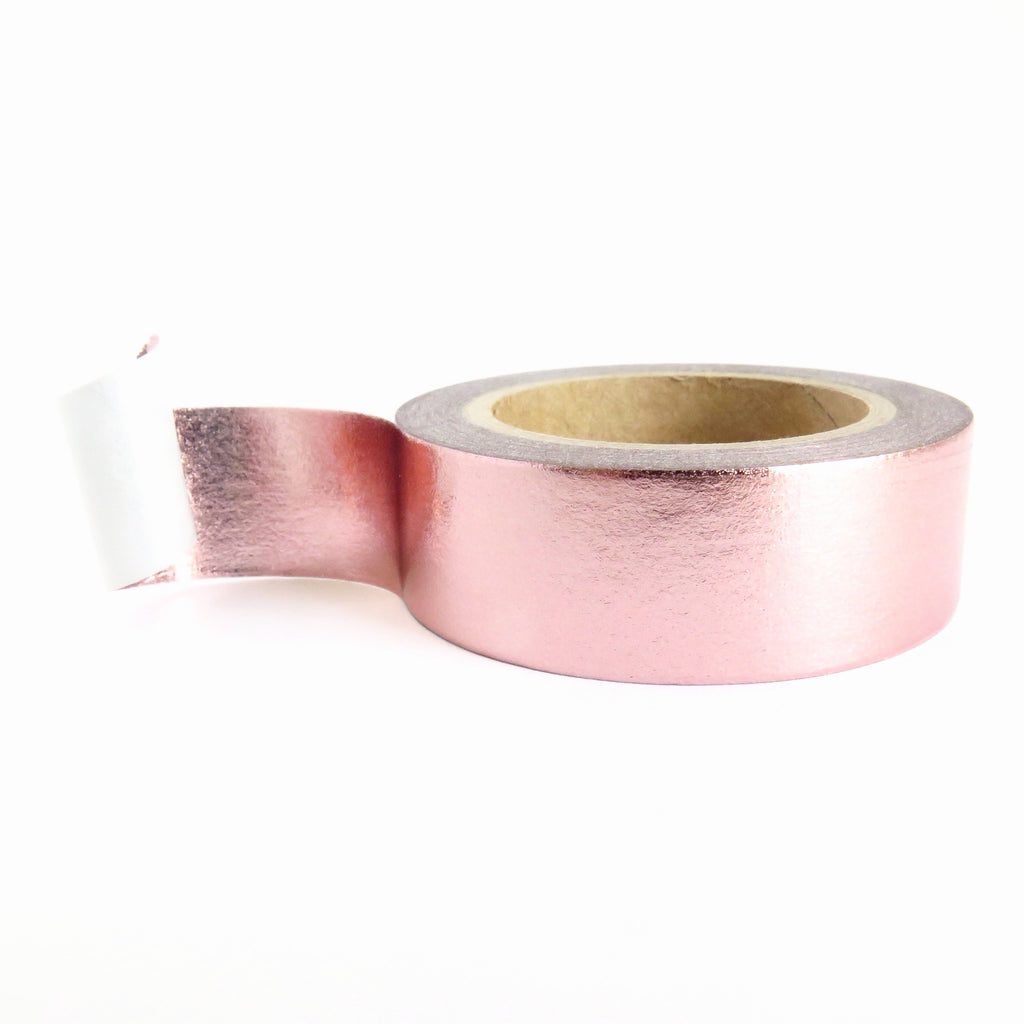 Pink Gold Foil Metallic Washi Tape