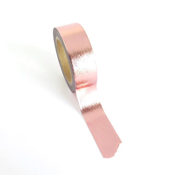 Pink Rose Gold Washi Tape