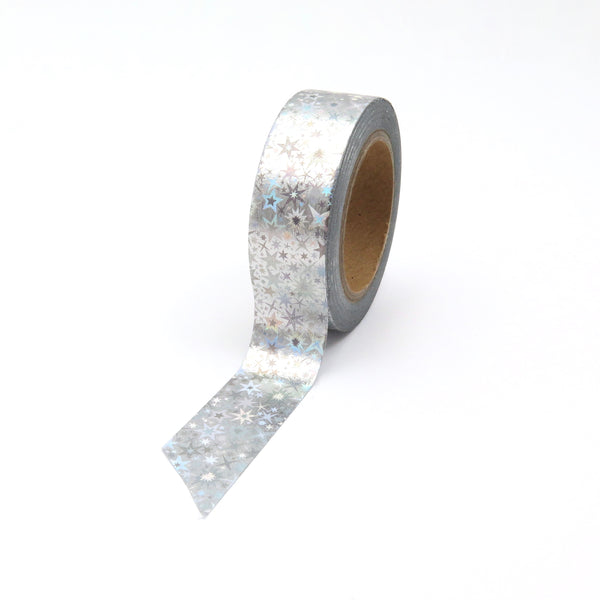 Starry night Silver Foil Washi Tape
