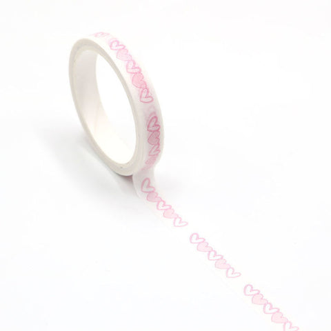 Perforated Washi Tape - Hearts