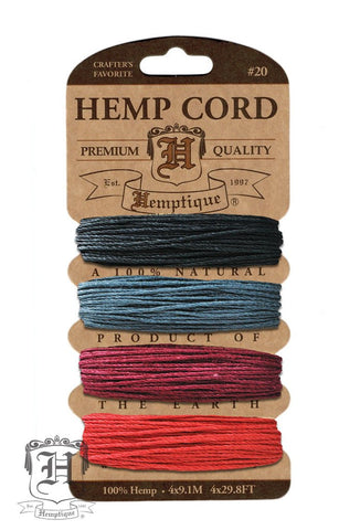 Hemp Cord Card by Hemptique