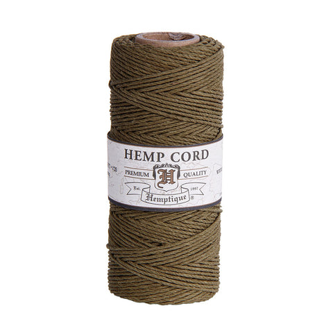 Hemptique Hemp Cord #20 - Sage
