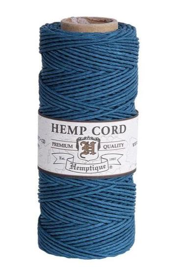 Hemp Cord Spool #20 - Aquamarine