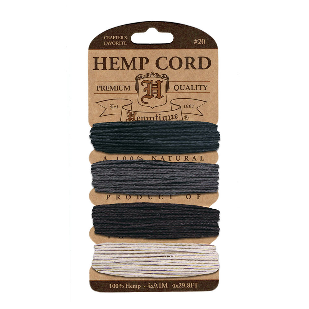 Hemptique Hemp Cord Card #20 - Birds of a feather