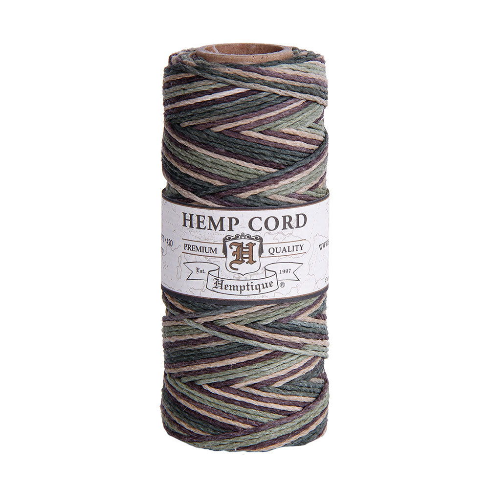 Hemptique Hemp Cord #20 - Camo
