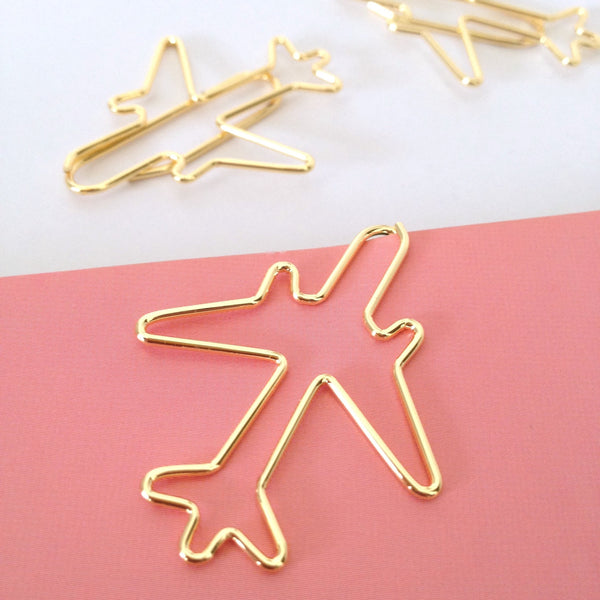 Gold Plane Planner Clips
