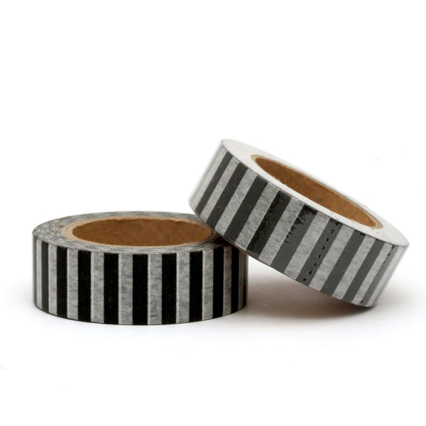 Washi Tape, Black Stripe