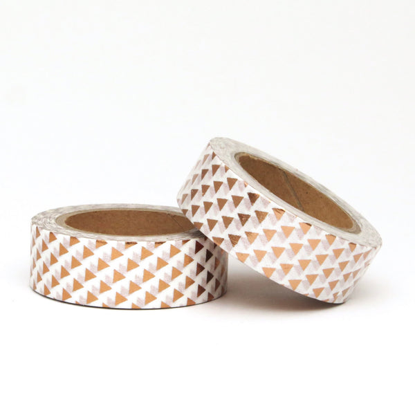 Washi Tape, Copper Foil, Triangles Arrows