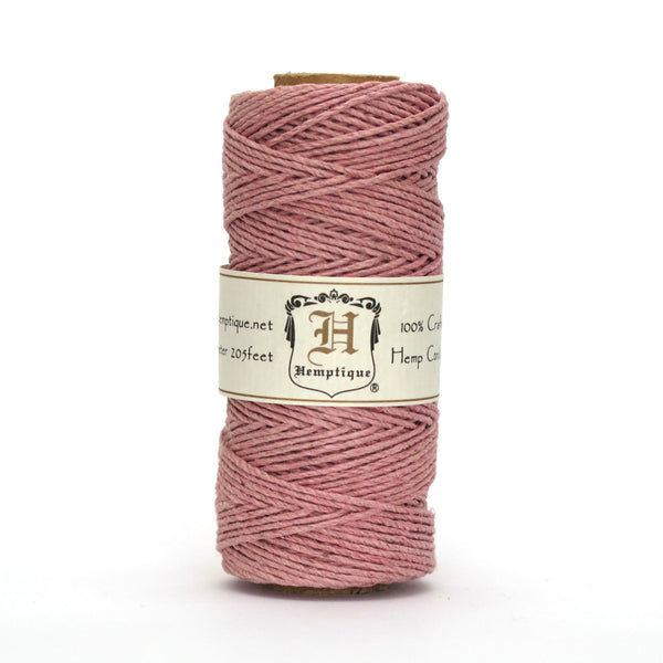 Hemptique Hemp Cord #20 Dusty Pink
