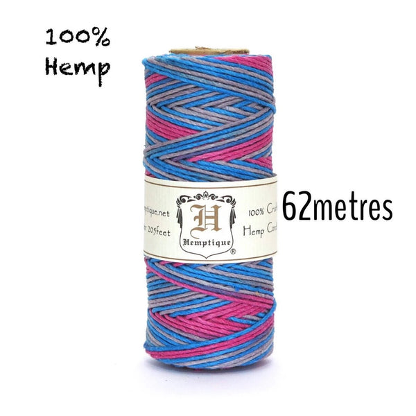 100% Hemp Cord by Hemptique - Dance Off