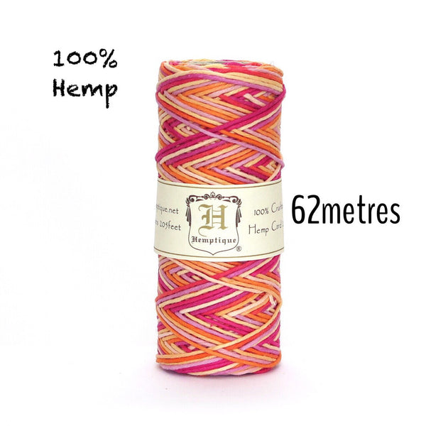 Hemptique Hemp Cord #20 - Taffy