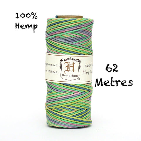 Hemptique Hemp Cord #20 Carousel