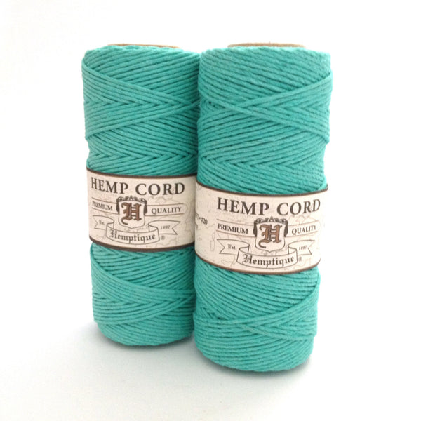 Hemp Cord by Hemptique - Teal