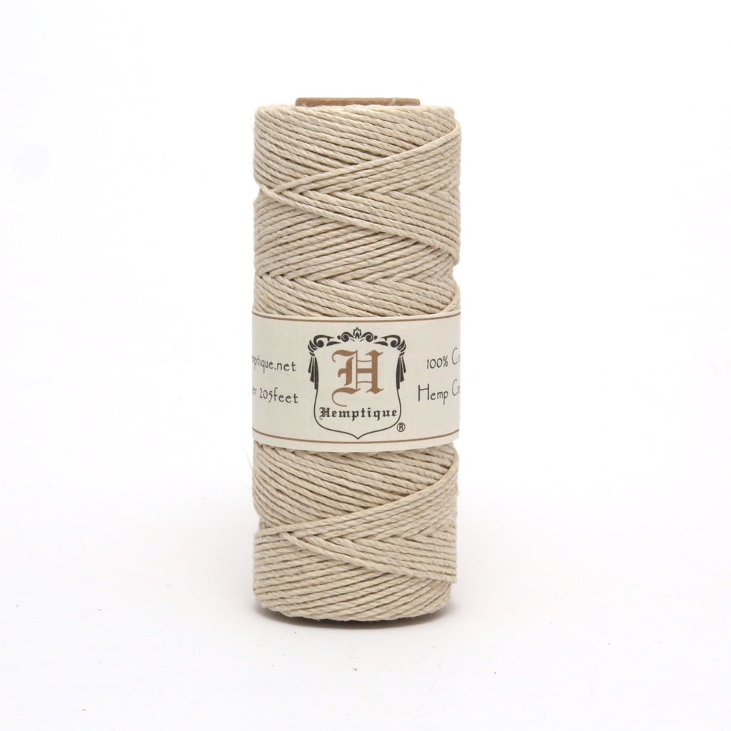 Hemptique Eco Friendly Hemp Cord - Natural