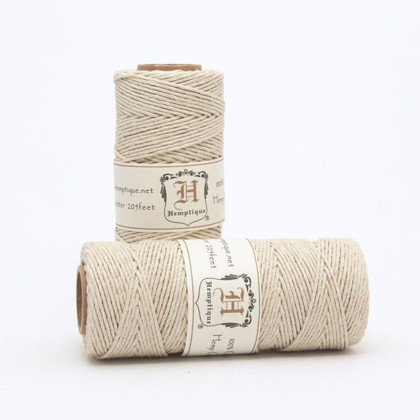 Hemp Cord by Hemptique - Natural