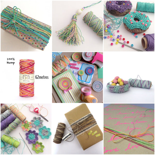 Hemp Cord Crafting ideas
