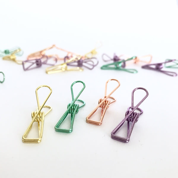Planner Clips Spring Set of 5