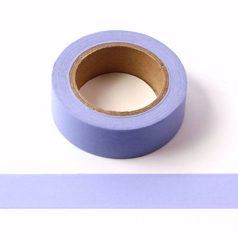 Washi Tape - Lavender Solid Colour