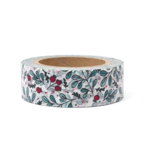 Christmas Washi Tape - Mistletoe
