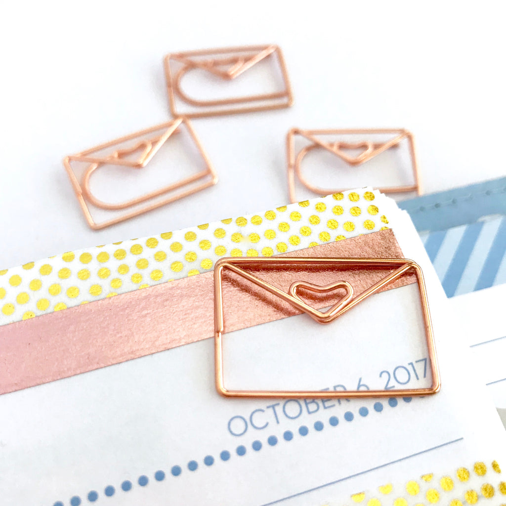 Happy Mail Paper Clip Envelopes