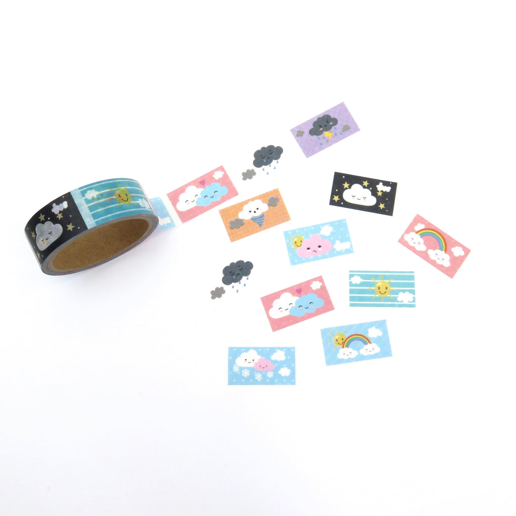 Perforated Washi Tape, Weather