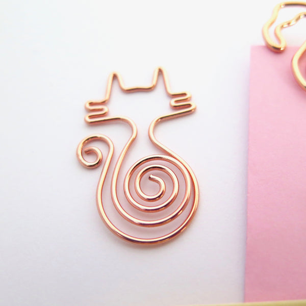 Kitty Cat Planner Clips
