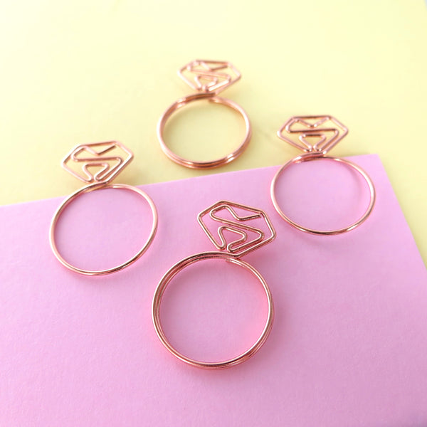 Diamond Ring Planner Clips