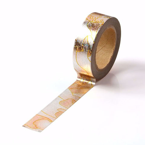 Washi Tape - Rose Gold Foil