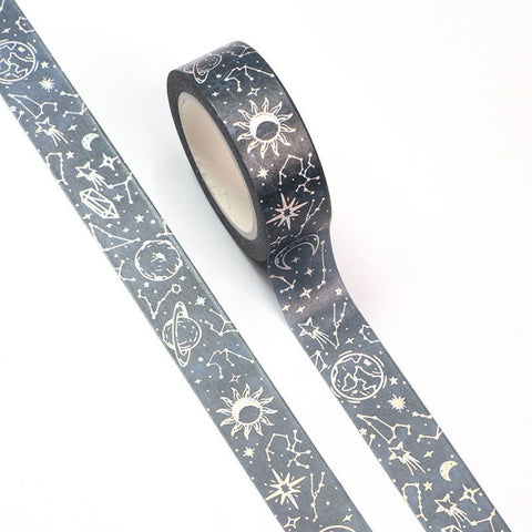 Washi Tape Solar Planets Celestial