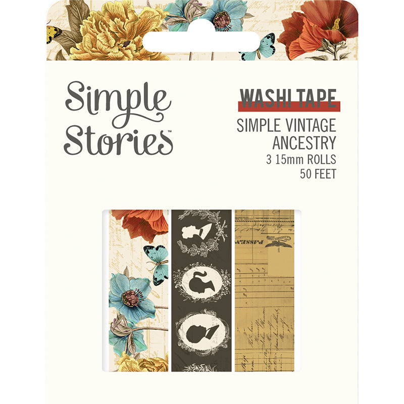 Simple Stories - Vintage Ancestry Washi