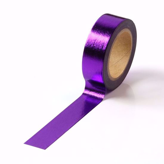 Washi Tape, Purple Foil