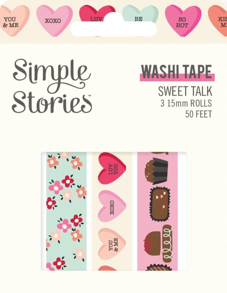 Simple Stories - Sweet Talk Washi