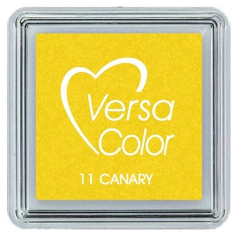 VersaColor Pigment Mini Ink Pad - Canary Yellow